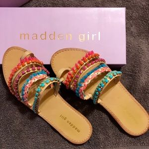Madden Girl Colorful Sandals
